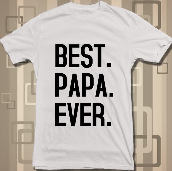 best dad ever white