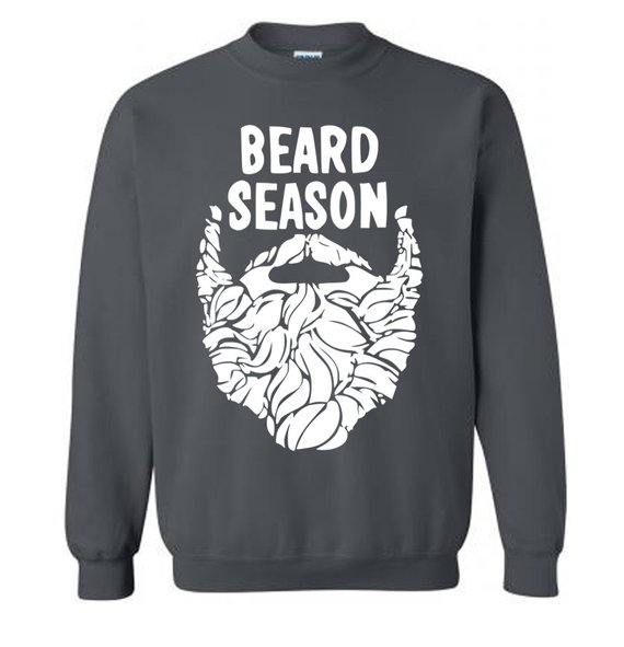 Beard Season Funny Christmas - Sweatshirt