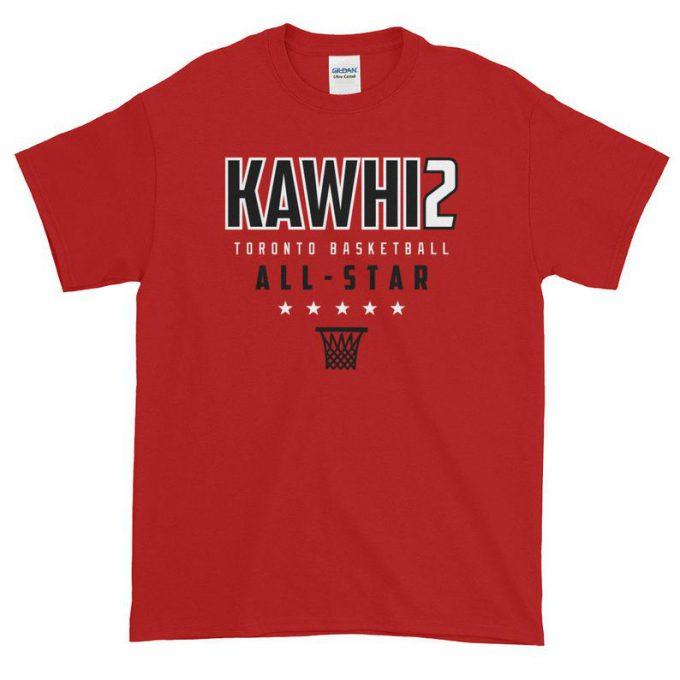 Kawhi Leonard All-Star Warmup T-Shirt